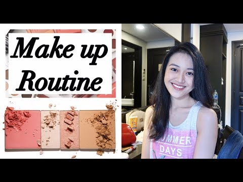 MAKE UP ROUTINE | Clarin Hayes