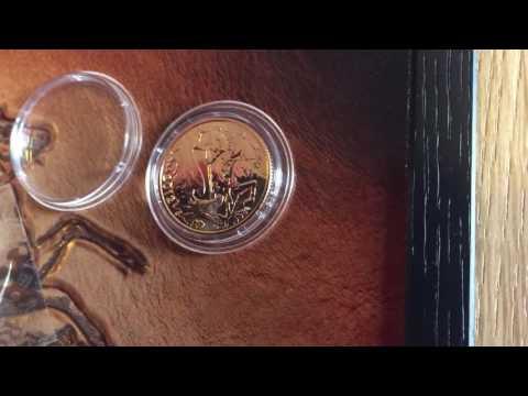2012 Full Gold Sovereign Sealed & 2012 1/4 Sovereign