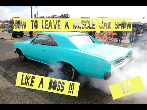 How to leave a Muscle Car Show like a BOSS Cars Coffee Pure v8 Sound
