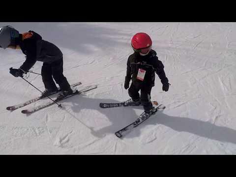 Skiing Grand Geneva, 2019