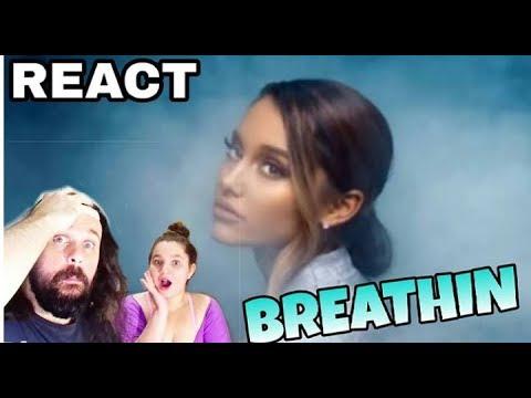 REAGINDO: ARIANA GRANDE - BREATHIN   REACT