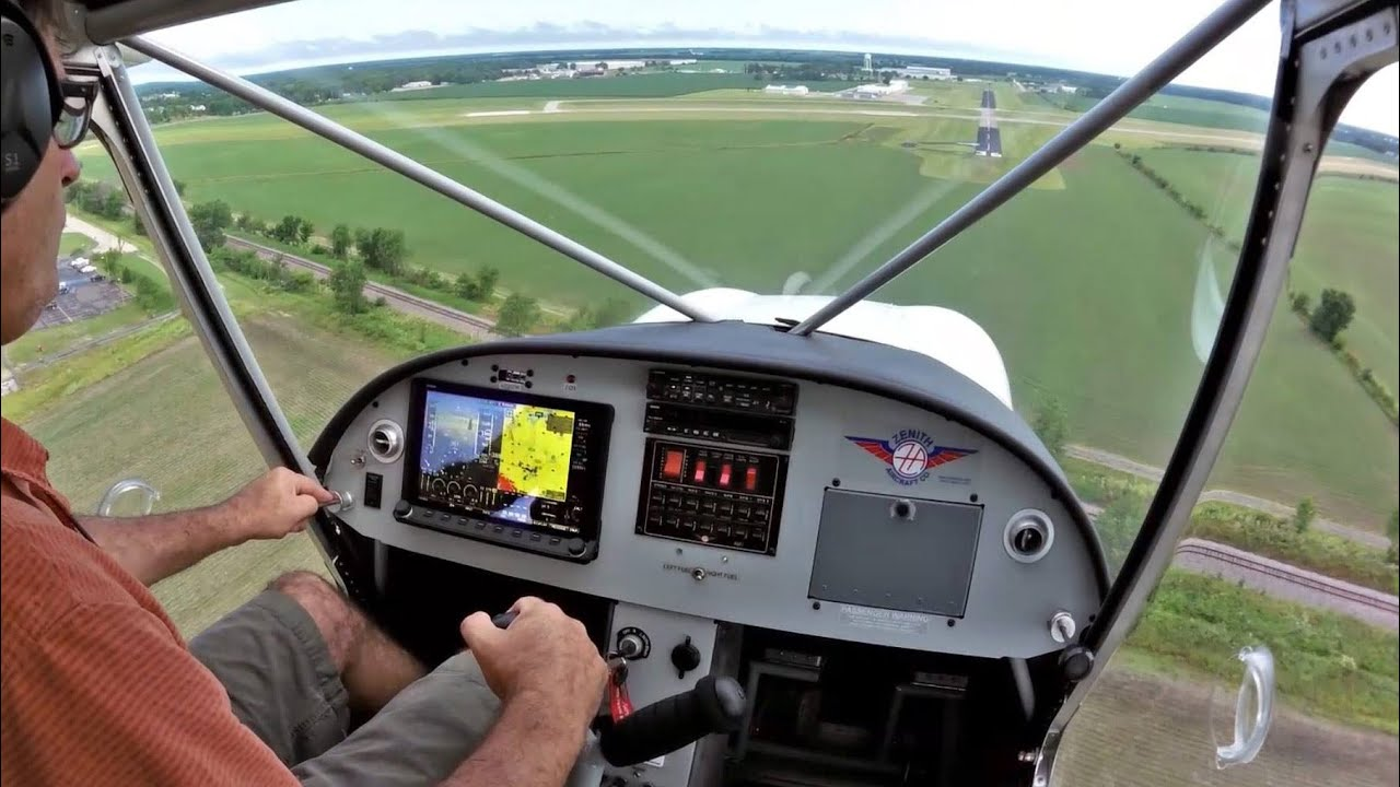Instruments / Avionics Package for Zenith Aircraft using DYNON SkyView HDX  System