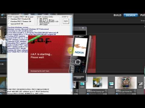 Hướng dẫn Hack phone s40v3, v5, v6 bằng JAF đơn giản