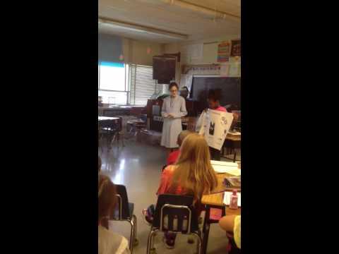 A 5th grader book report presentation on Stephanie Kwolek,