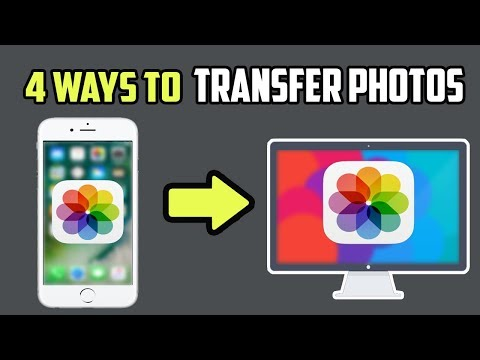 How do you upload pictures from iphone to mac computer