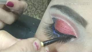 Simpal &easy cut crease eyemakeup kessay karay for biginners. बहुत ही आसान तरीके से करें आईं मेकअप।