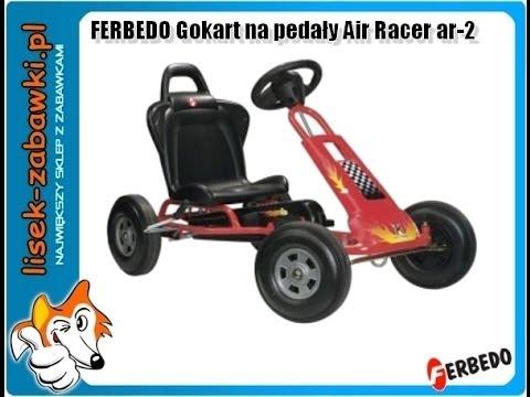 gokart ferbedo air racer ar 2 spielzeug f r kinder kettcar. Black Bedroom Furniture Sets. Home Design Ideas