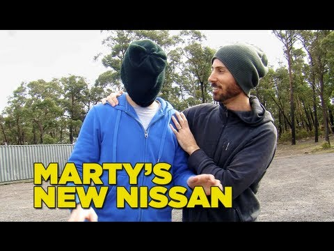 Marty's New Nissan