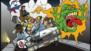 The Real Ghostbusters Music Video - Kaico and Cocosh - Ghostbusters (Club Edit)