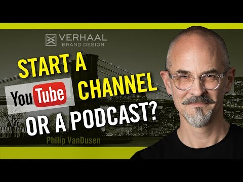 Vlogging vs Podcasting - Should You Start a YouTube Channel or a Podcast?