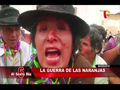 Huánuco: conozca la guerra de las naranjas