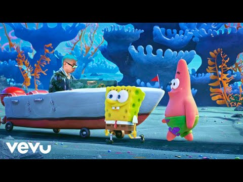 "Tainy, J Balvin – Agua (Music From ""Sponge On The Run"" Movie/Official Video) PARODIA"