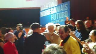 Martiño Noriega lanza la campaña de Compostela Aberta