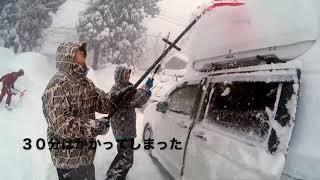 妙高 赤倉温泉大雪警報発令中!