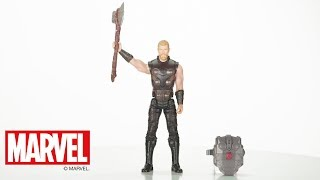 Hasbro Brasil - Video 360 Figura Avengers Power Pack Thor - E0616