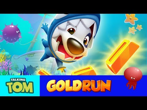 🦈 Shark Hank's Underwater Adventure – Talking Tom Gold Run NEW UPDATE (Gameplay)