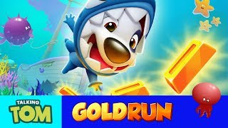 🦈 Shark Hank's Underwater Adventure – Talking Tom Gold Run NEW UPDATE (Gameplay)