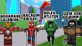 76IN SUPERHERO. DAY AQUAMAN JOINS HEROES / Roblox English / MadCity Roleplay