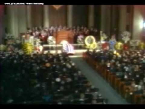 January 25, 1973 - Funeral Service for President Lyndon Baines Johnson in Washington D.C.