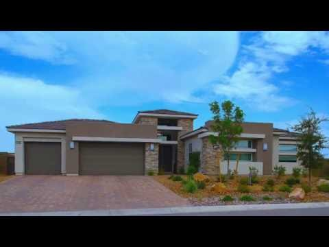 New Luxury Single Story Homes in Southwest Las Vegas