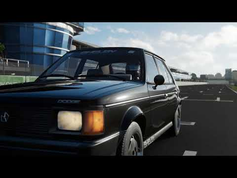 FORZA Motorsport 7 - 1986 Dodge Shelby Omni GLHS - Car Show Speed Crash Test .