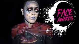 NYX FACE AWARDS 2017 [USA] / Phantom Makeup Tutorial