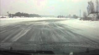 Латвия ! Новая трасса Рига Москва ! Пока длится от Риги до Кокнесе !