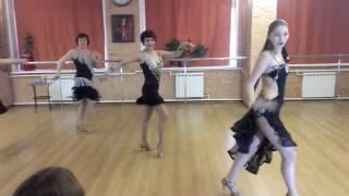 Мир танца- Шоу номер Латина соло ча-ча-ча.