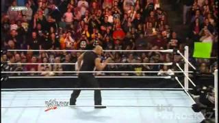 WWE Raw 2011 (Español) - El regreso de The Rock (1/2)
