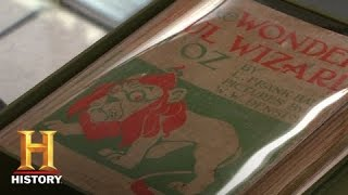 Pawn Stars: Signed First Edition of The Wonderful Wizard of Oz | History