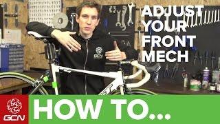 How To Adjust Y๐ur Front Derailleur