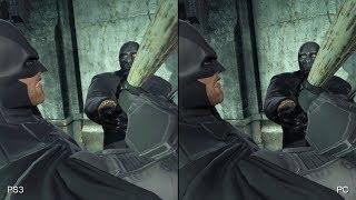 Batman: Arkham Origins - PC vs. PlayStation 3 Comparison