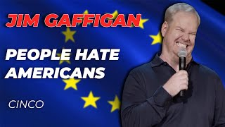 """Idiot Abroad"" - Jim Gaffigan Stand up (Cinco)"