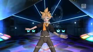 Len Kagamine - Butterfly On Your Right Shoulder. ( Project Diva )