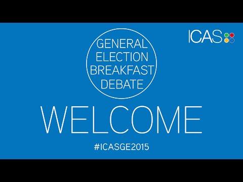 ICAS General Election Breakfast Debate