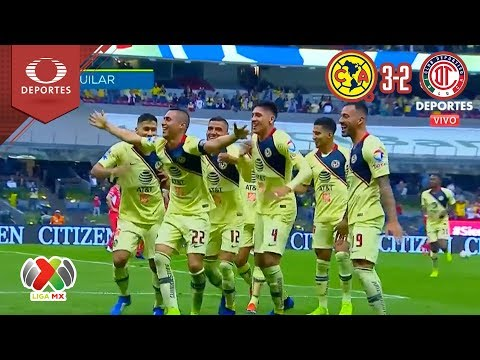 ¡América semifinalista! | América 3-2 Toluca | Cuartos de final | Televisa Deportes