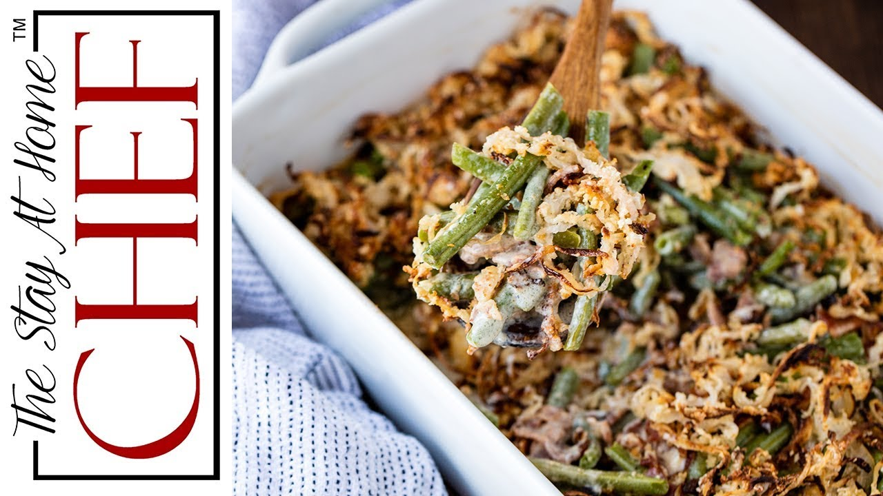 How To Make Old Fashioned Green Bean Casserole From