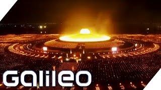 Unglaubliches buddhistisches Spektakel | Galileo Lunch Break