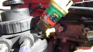 Индикатор загрязнения фильтра на FORD TRANSIT на 2 4 TDCI