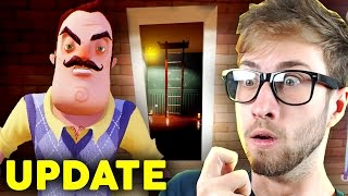 SECRET WAY INTO THE BASEMENT!? - Hello Neighbor