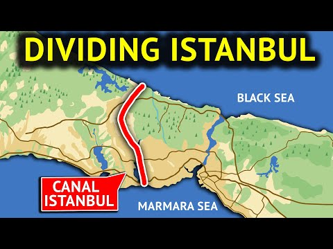 Canal Istanbul Project Creates Discussions about Turkish Straits