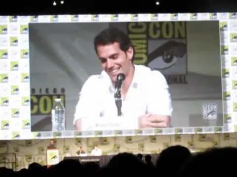 """Man of Steel"" Panel - Comic-Con 2012"