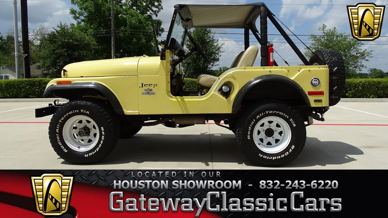 hight resolution of 1973 jeep cj 5 gateway classic cars 1228 houston showroom