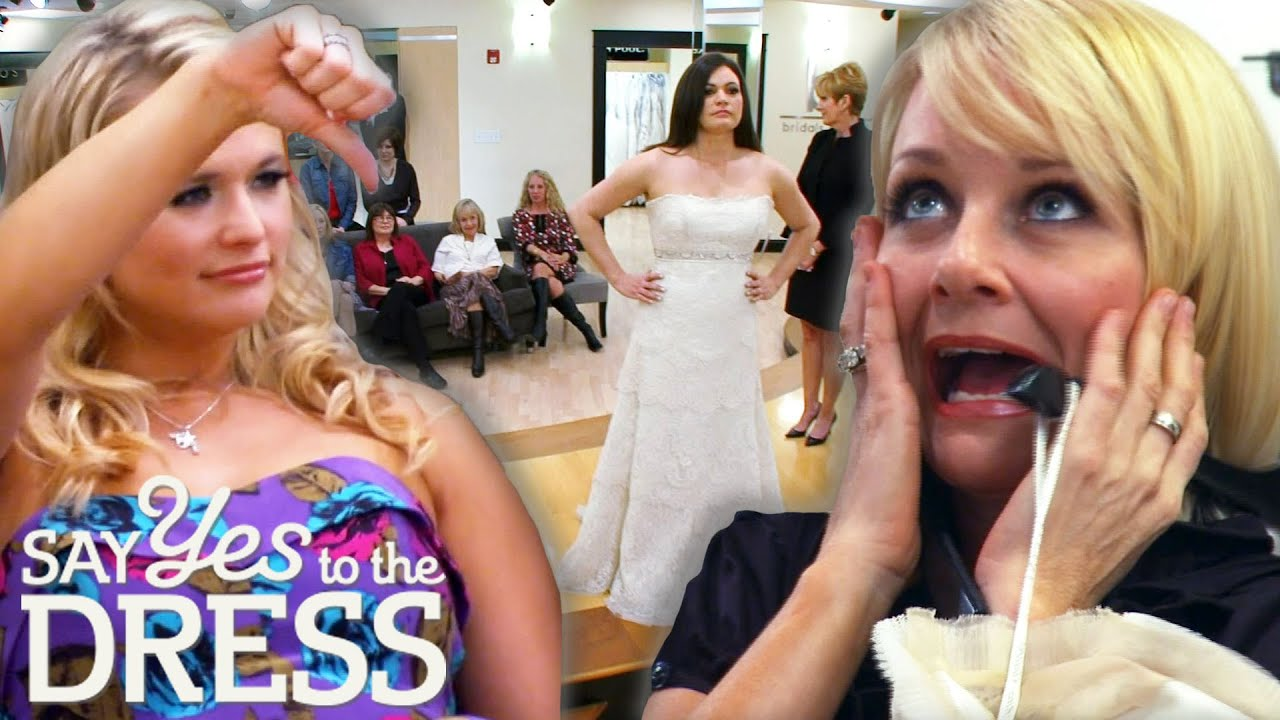 Huge Entourage Helps Pick A Dress For Wedding They're Not Invited To | Say Yes To The Dress Atlanta