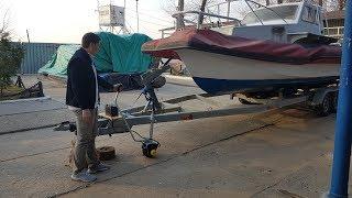 Опорное колесо ЭлектроПодкат для яхт лодок и катеров