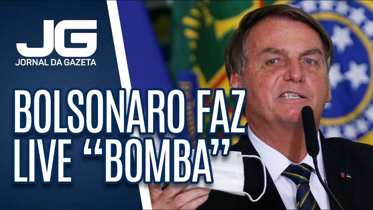 Download Presidente Bolsonaro faz live para falar de suposta fraude em eleições