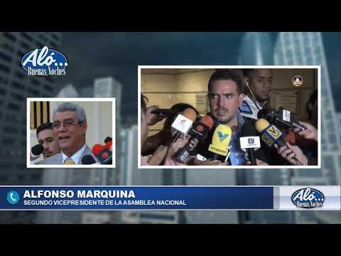 "ALO BN 08/01: ALFONSO MARQUINA: ""A PESAR DE LOS OBSTACULOS SEGUIMOS EN LA AN"". SEG05"