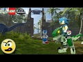 Lego Dimensions Sonic The Hedgehog (o Ouriço)  Na Dimensão Do Lego Jurassic World - Caraca Games video