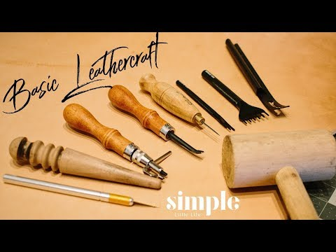 Basic Leather Craft Tools - Tool Time Tuesday
