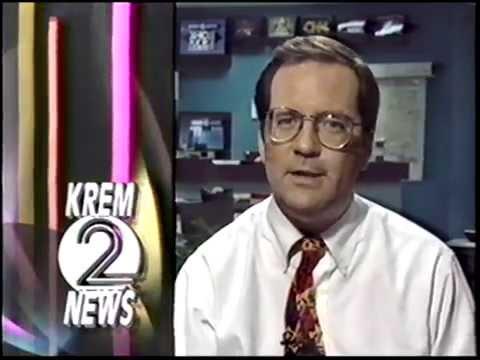 1993 KREM TV Weather Break with Tom Sherry